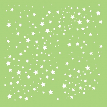 Kaisercraft SCATTERED STARS 6x6 Inch Stencil IT495