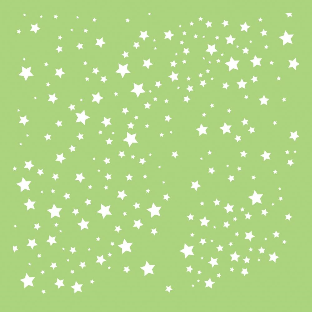 Kaisercraft SCATTERED STARS 6x6 Inch Stencil IT495 zoom image