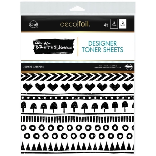 Therm O Web Brutus Monroe JEEPERS CREEPERS Deco Foil Toner Sheets 19038 Preview Image