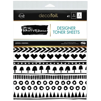 Therm O Web Brutus Monroe JEEPERS CREEPERS Deco Foil Toner Sheets 19038*