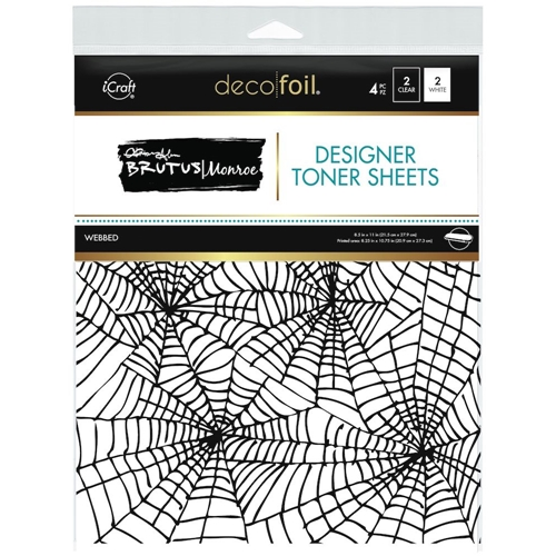 Therm O Web Brutus Monroe WEBBED Deco Foil Toner Sheets 19035 Preview Image