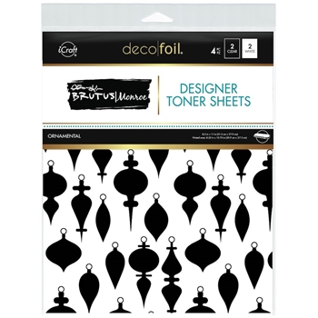 Therm O Web Brutus Monroe ORNAMENTAL Deco Foil Toner Sheets 19042