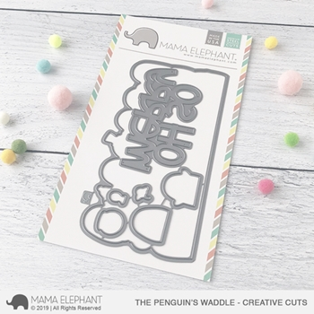 Mama Elephant THE PENGUIN'S WADDLE Creative Cuts Steel Dies