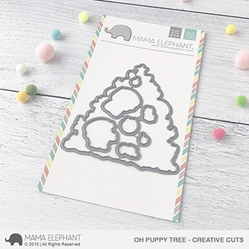 Mama Elephant OH PUPPY TREE Creative Cuts Steel Dies