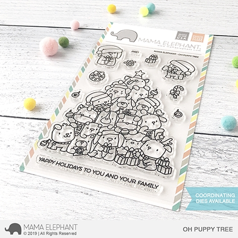 Mama Elephant Clear Stamps OH PUPPY TREE Preview Image