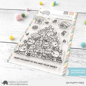 Mama Elephant Clear Stamps OH PUPPY TREE