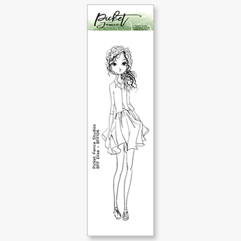 Picket Fence Studios BFF ELISE Clear Stamp bff106