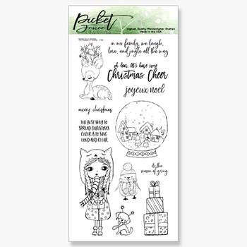 Picket Fence Studios THE SEASON OF GIVING Clear Stamps c108