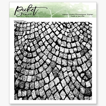 Picket Fence Studios COBBLESTONE PATH Clear Stamp bb126