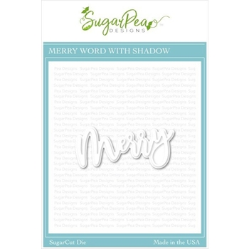 SugarPea Designs MERRY SugarCuts Dies spd-00380
