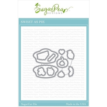 SugarPea Designs SWEET AS PIE SugarCuts Dies spd-00385
