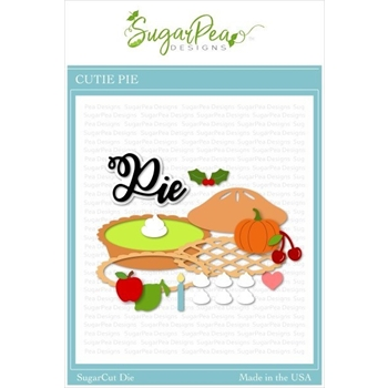 SugarPea Designs CUTIE PIE SugarCuts Dies spd-00383