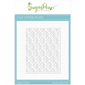 SugarPea Designs LEAF COVER PLATE SugarCuts Dies spd-00382