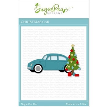 SugarPea Designs CHRISTMAS CAR SugarCuts Dies spd-00378
