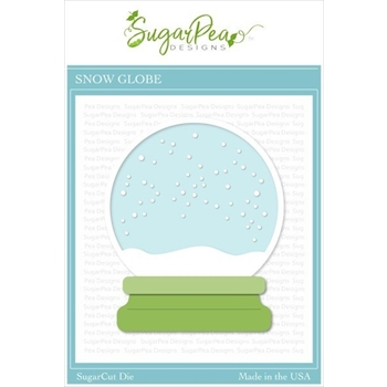 SugarPea Designs SNOW GLOBE SugarCuts Dies spd-00373