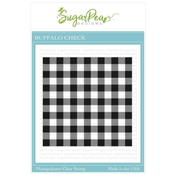 SugarPea Designs BUFFALO CHECK Clear Stamp Set spd-00370