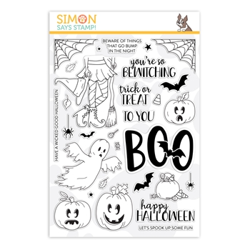 Simon Says Clear Stamps SPOOK UP SOME HALLOWEEN FUN sss202070