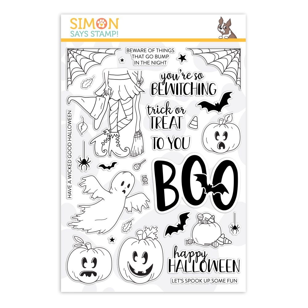 Simon Says Clear Stamps SPOOK UP SOME HALLOWEEN FUN sss202070 zoom image