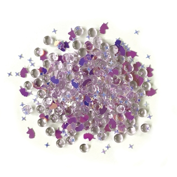 Buttons Galore and More Shimmerz UNICORN LEGEND Embellishments RZ103