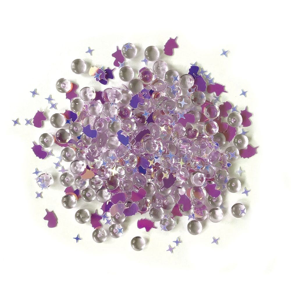Buttons Galore and More Shimmerz UNICORN LEGEND Embellishments RZ103 zoom image