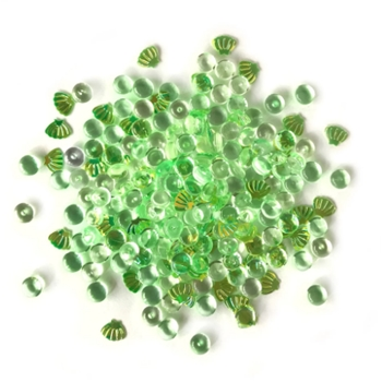Buttons Galore and More Shimmerz SEA TURTLE Embellishments RZ101