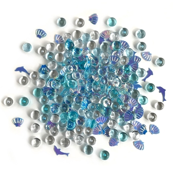 Buttons Galore and More Shimmerz DOLPHIN'S TALE Embellishments RZ100