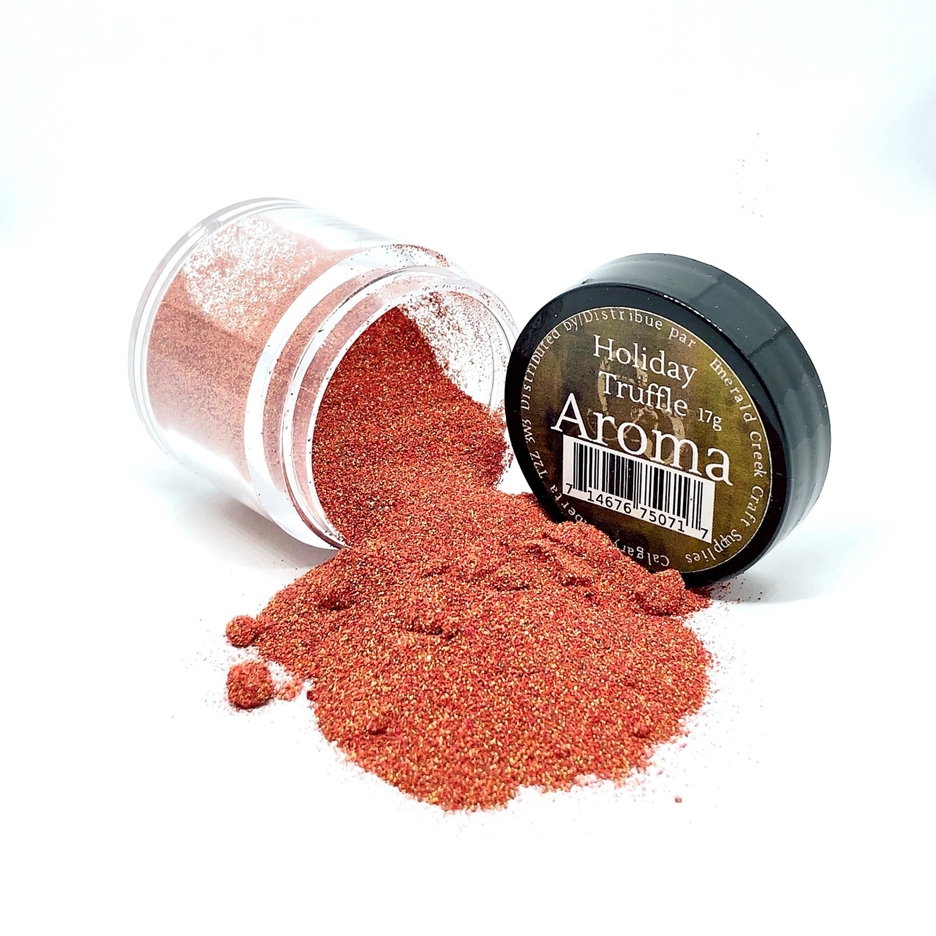 Emerald Creek HOLIDAY TRUFFLE Aroma Embossing Powder aapht zoom image