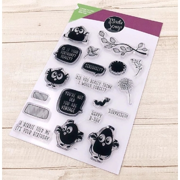 ModaScrap Clear Stamps FUNNY BIRDIE mstc1030