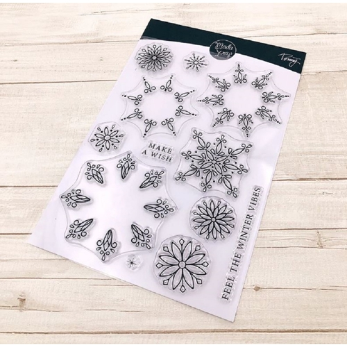 ModaScrap Clear Stamps SNOWFLAKE mstct012 Preview Image