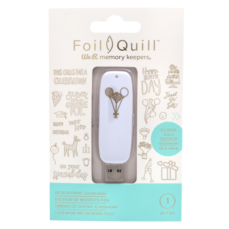 We R Memory Keepers CELEBRATION Foil Quill Design Drive USB 661208 zoom image
