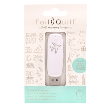 We R Memory Keepers VACATION Foil Quill Design Drive USB 661210