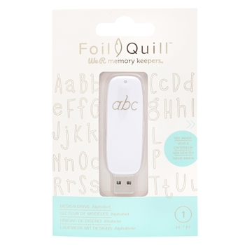 We R Memory Keepers ALPHABET Foil Quill Design Drive USB 661209*