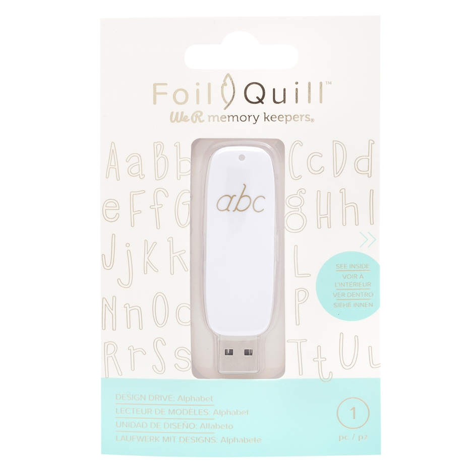 We R Memory Keepers ALPHABET Foil Quill Design Drive USB 661209 zoom image