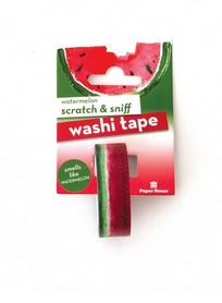 Paper House Scratch and Sniff WATERMELON Washi Tape STWA-1005