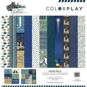 PhotoPlay BETHLEHEM 12 x 12 Collection Pack ColorPlay bet9600