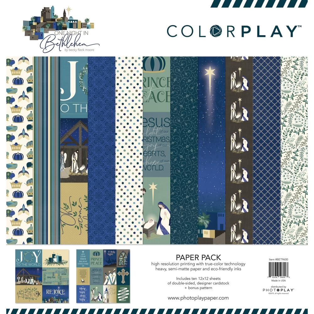 PhotoPlay BETHLEHEM 12 x 12 Collection Pack ColorPlay bet9600 zoom image