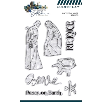 PhotoPlay BETHLEHEM Clear Stamps ColorPlay bet9602