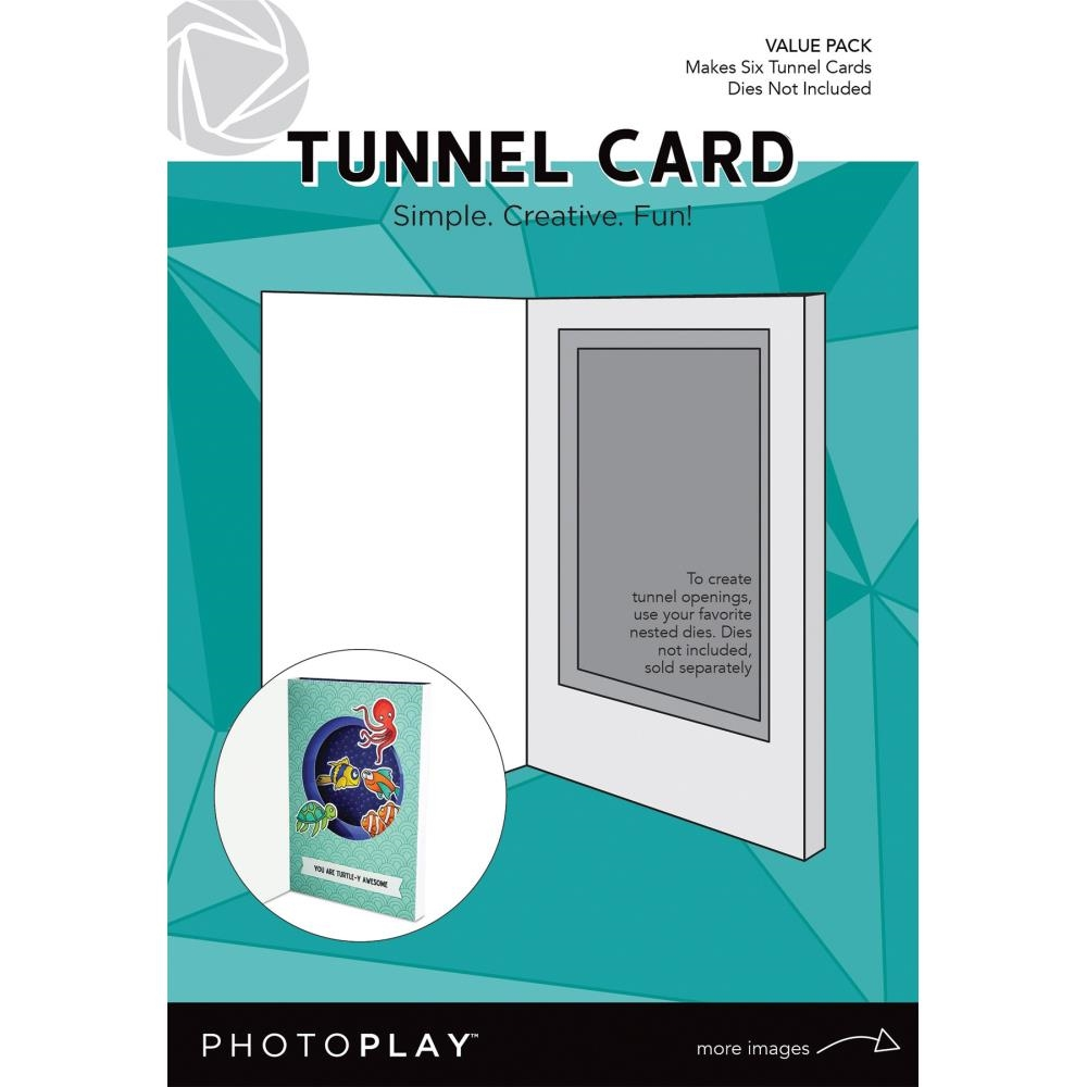 PhotoPlay TUNNEL CARD VALUE PACK Maker's Series ppp9462 zoom image