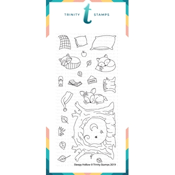 Trinity Stamps SLEEPY HOLLOW Clear Stamp Set tps-005