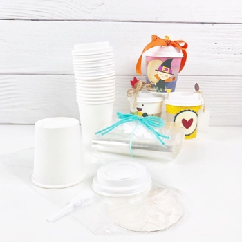 Trinity Stamps MINI COFFEE CUPS, LIDS, STOPPERS, AND GIFT BAGS tsk-001