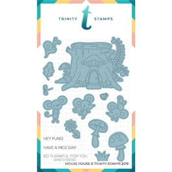 Trinity Stamps MOUSE HOUSE Die Set tmd-c03