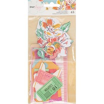 American Crafts Dear Lizzy SHE'S MAGIC EPHEMERA Die Cut Shapes 354824