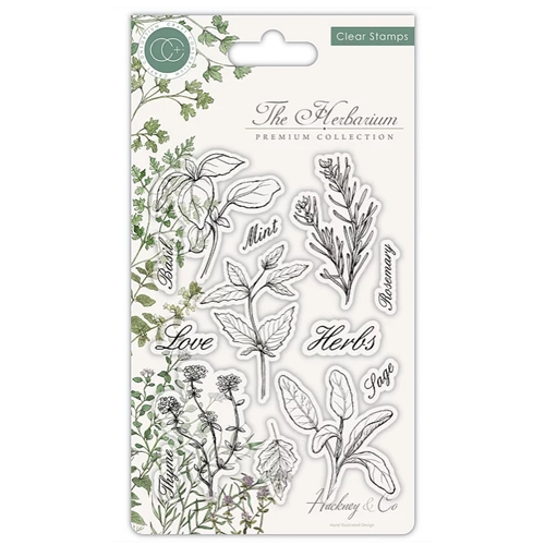 Craft Consortium THE HERBARIUM HERBS Clear Stamps CCSTMP011 Preview Image