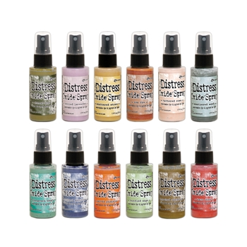 RESERVE Tim Holtz Distress OXIDE SPRAY SET OF 12 Ranger ranger124