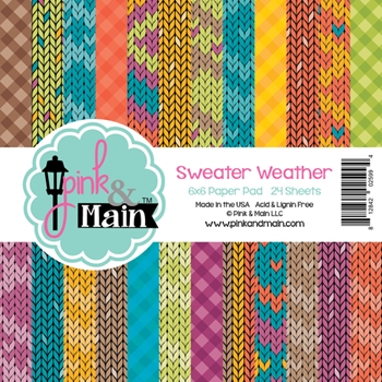 Pink and Main 6x6 SWEATER WEATHER Paper Pad 025994