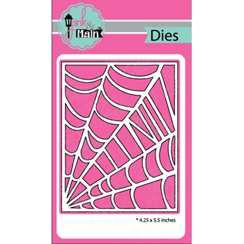 Pink and Main SPIDER WEB COVER Die PNM238