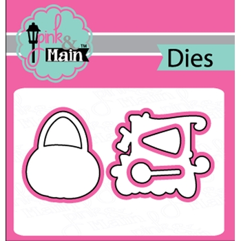 Pink and Main TRICK OR TREAT Dies PNM237