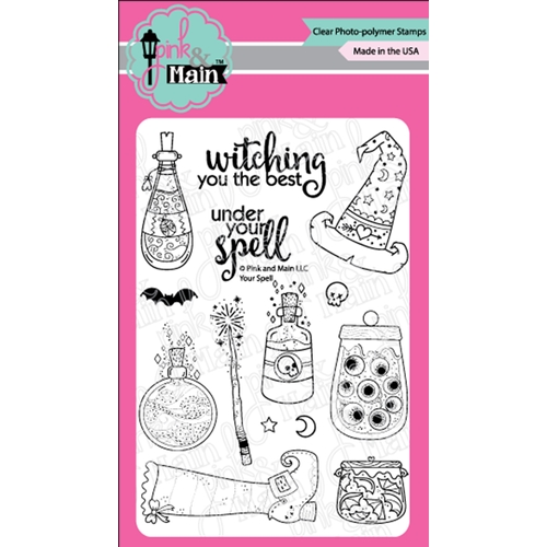 Pink and Main YOUR SPELL Clear Stamps PM0365 Preview Image