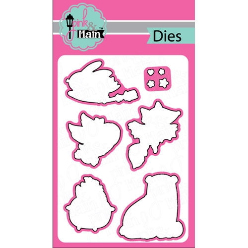Pink and Main LESS TRICKS Dies PNM235 Preview Image