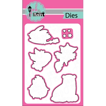Pink and Main LESS TRICKS Dies PNM235
